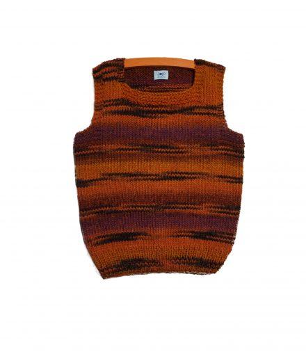 pullunder handmade wolle merino